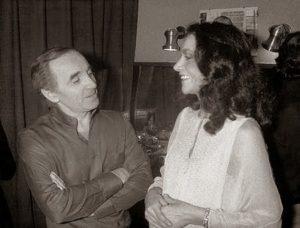 Mia Martini con Charles Aznavour