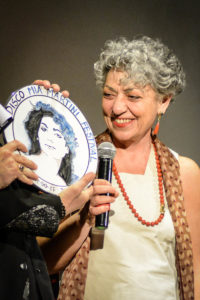 """Olivia Berté, presidente della commissione della terza edizione di """"Una poesia per Mimì"""""""